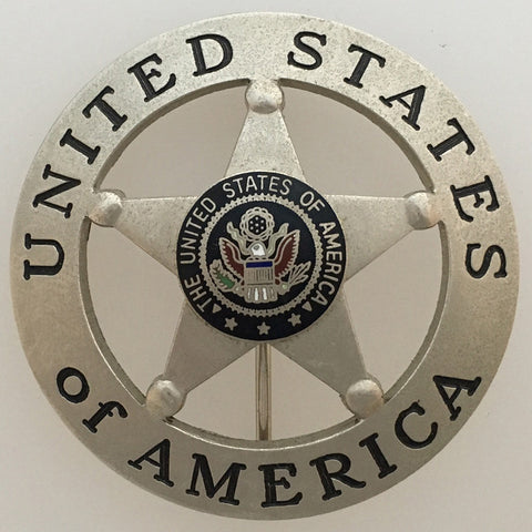 Clearance - United States Of America Badge