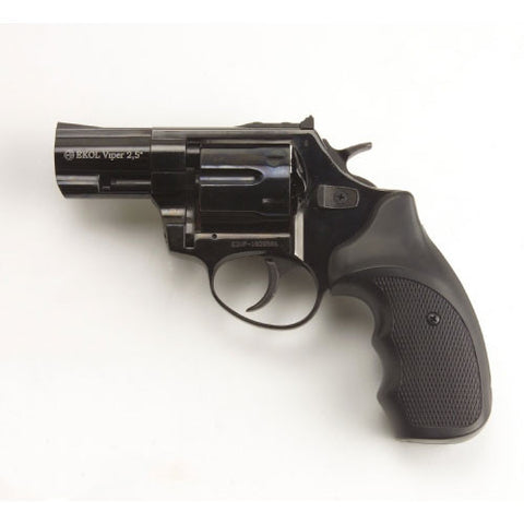 "Viper Black 2.5"" Barrel - Top Firing Blank Revolver"