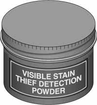 VISIBLE STAIN THIEF DETECTION POWDER