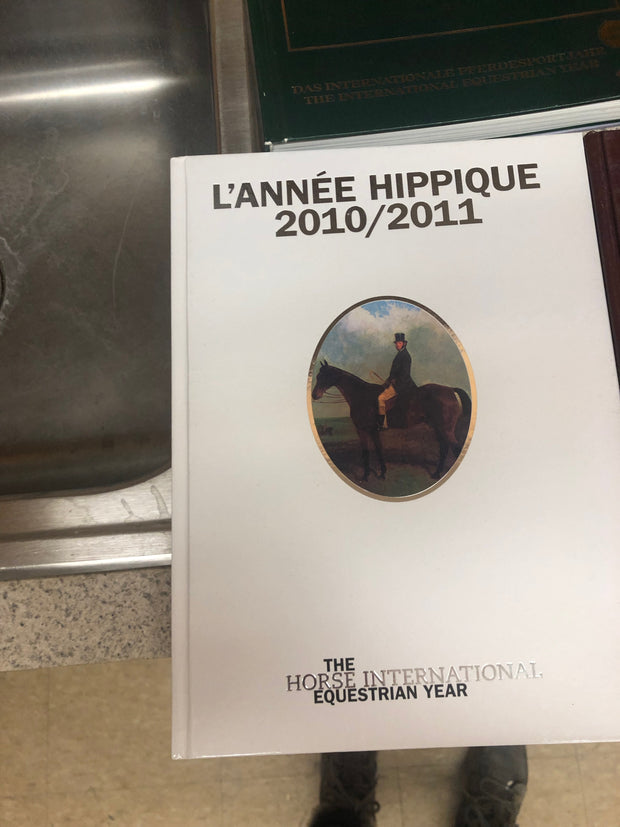 Brilliant Lot Of 5 Lannee Hippique International Equestrian Year Pabps2019 Chair Design Images Pabps2019Com
