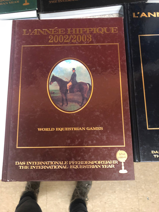Awe Inspiring Lot Of 5 Lannee Hippique International Equestrian Year Pabps2019 Chair Design Images Pabps2019Com