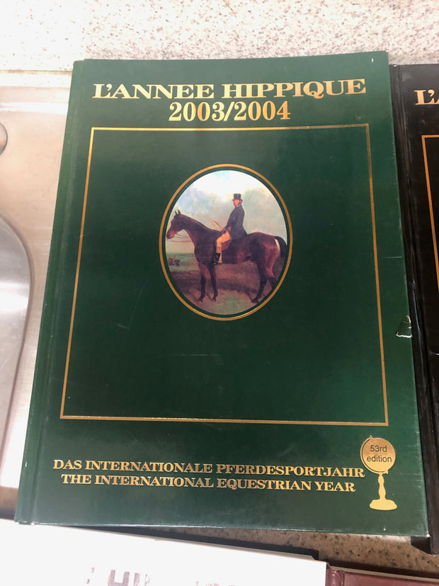 Groovy Lot Of 5 Lannee Hippique International Equestrian Year Pabps2019 Chair Design Images Pabps2019Com