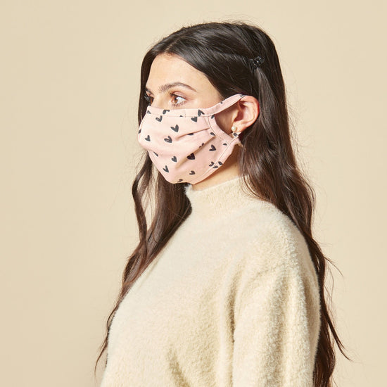 Be Mine Reusable Face Mask from The Foggy Dog