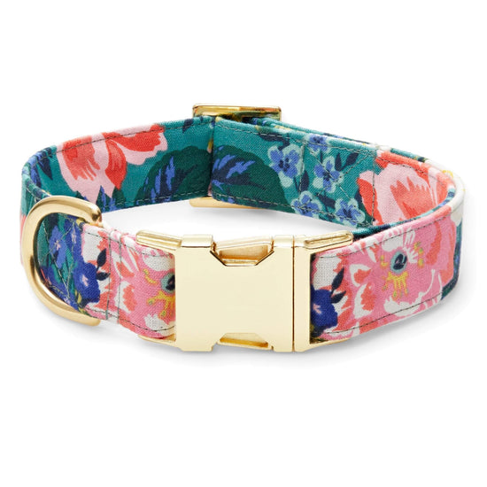 Bouquet Dog Collar from The Foggy Dog