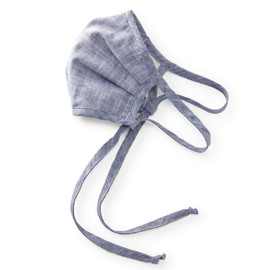 Chambray Reusable Face Mask from The Foggy Dog