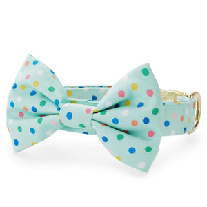 Confetti Dots Bow Tie Collar from The Foggy Dog