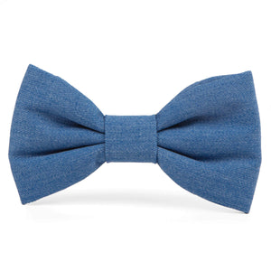Denim Dog Bow Tie from The Foggy Dog