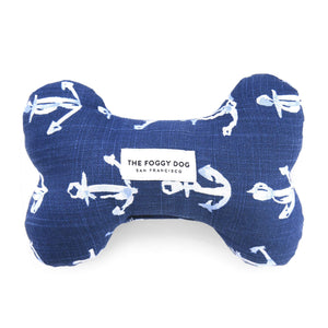 Down By The Sea Dog Squeaky Toy from The Foggy Dog