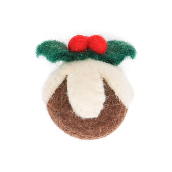 Figgy Pudding Holiday Cat Toy from The Foggy Dog