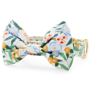 Gathered Bow Tie Collar from The Foggy Dog