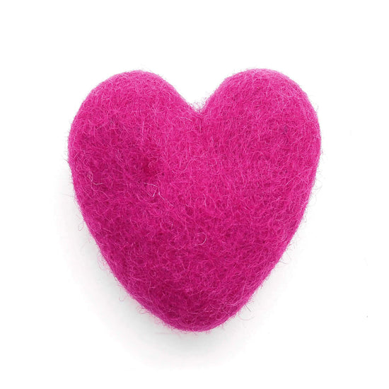 Heart Felt Cat Toy from The Foggy Dog