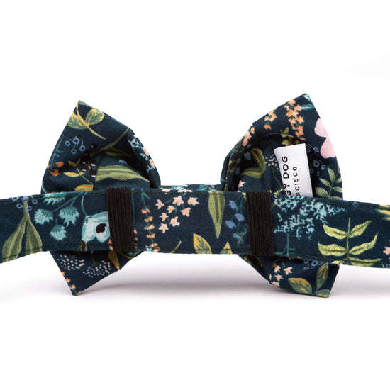 Herb Garden Bow Tie Collar from The Foggy Dog