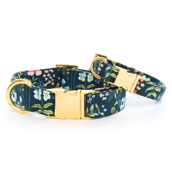 Herb Garden Dog Collar from The Foggy Dog