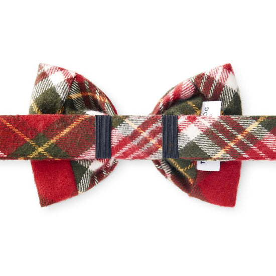 Highland Plaid Dog Bow Tie from The Foggy Dog