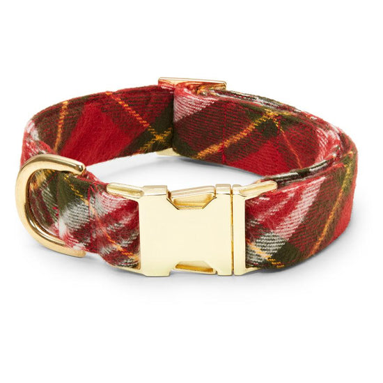 Highland Plaid Dog Collar from The Foggy Dog
