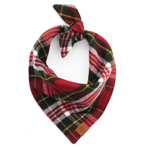 Highland Plaid Flannel Dog Bandana from The Foggy Dog