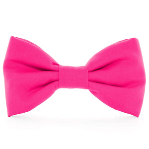 Hot Pink Dog Bow Tie from The Foggy Dog