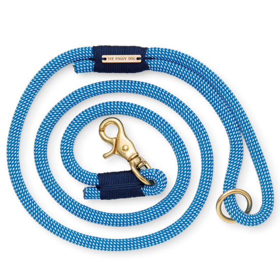 Lagoon Climbing Rope Dog Leash from The Foggy Dog