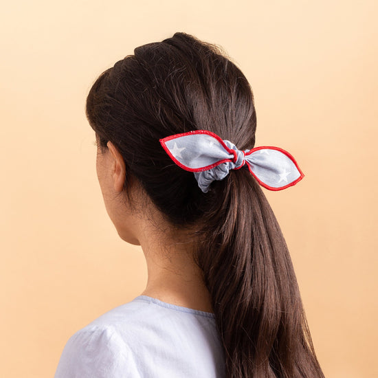 Liberty Scrunchie and Bandana Set from The Foggy Dog