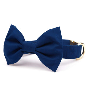 Ocean Bow Tie Collar from The Foggy Dog