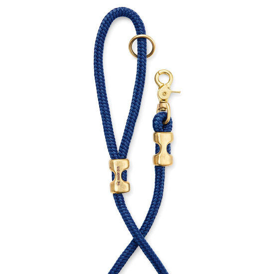 Ocean Marine Rope Dog Leash (Standard/Petite) from The Foggy Dog