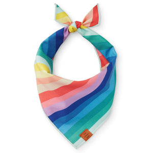 Over the Rainbow Dog Bandana from The Foggy Dog