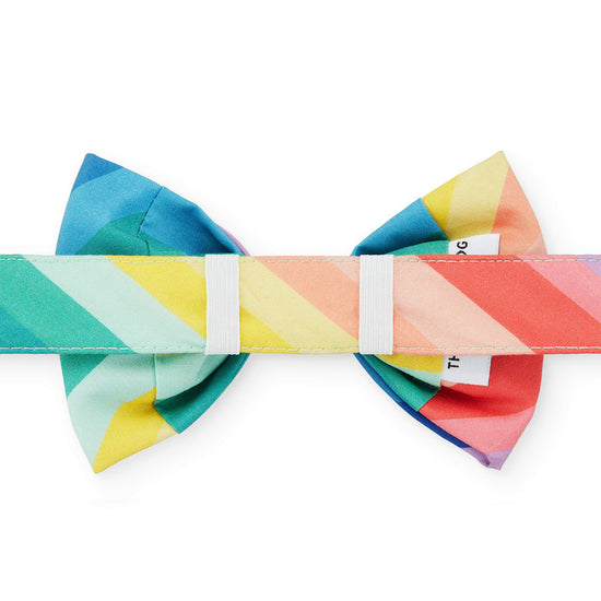 Over the Rainbow Dog Bow Tie from The Foggy Dog