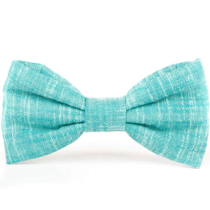 Peacock Dog Bow Tie from The Foggy Dog