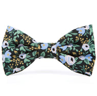 Periwinkle Posies Dog Bow Tie from The Foggy Dog