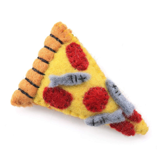 Pizza Cat Toy from The Foggy Dog