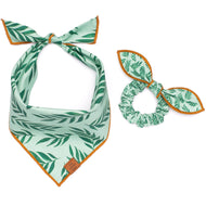 Plant Lady Scrunchie and Bandana Set from The Foggy Dog