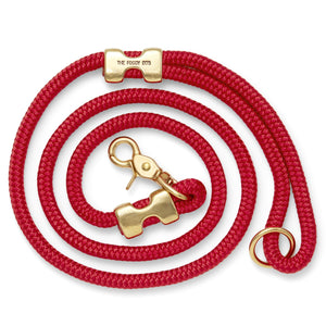 Ruby Marine Rope Dog Leash from The Foggy Dog