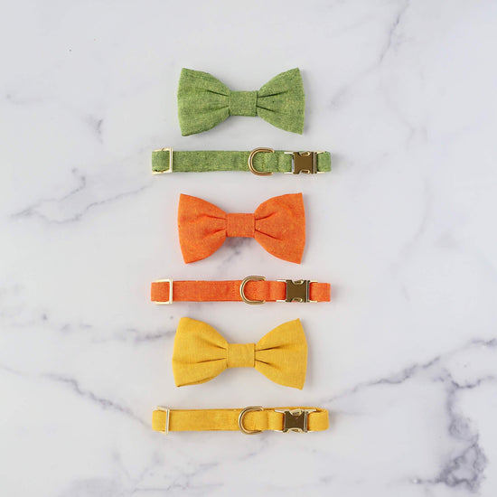 Satsuma Bow Tie Collar from The Foggy Dog