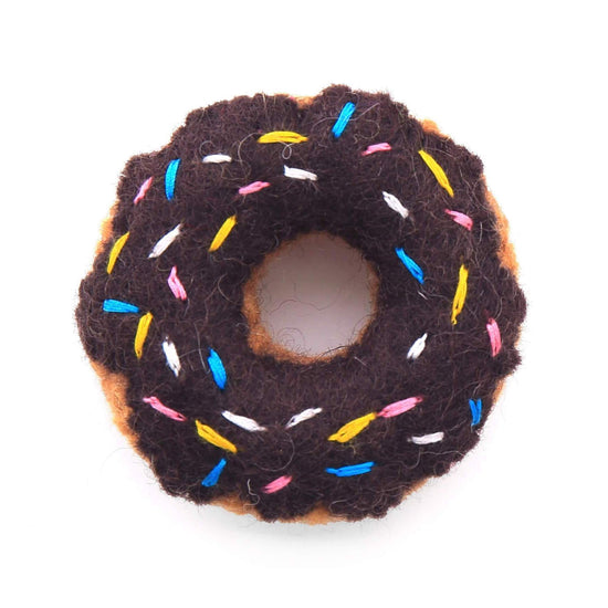 Set of Donut Cat Toys - All Three Flavors from The Foggy Dog