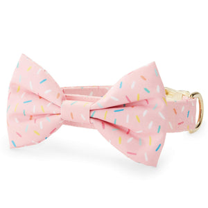 Sprinkles Bow Tie Collar from The Foggy Dog