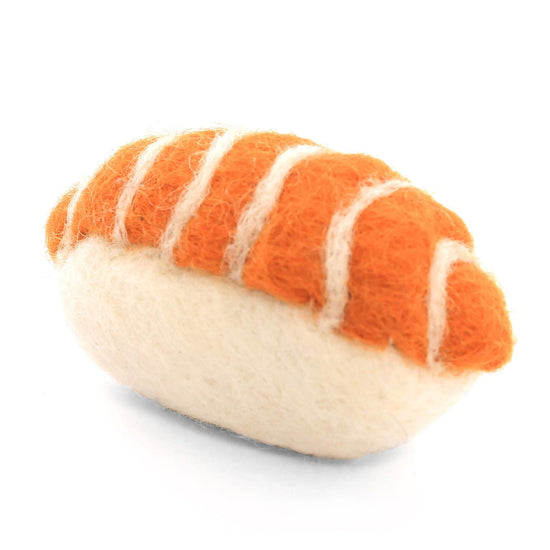 Sushi Cat Toy - Salmon Nigiri from The Foggy Dog