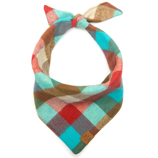 Taos Flannel Dog Bandana from The Foggy Dog