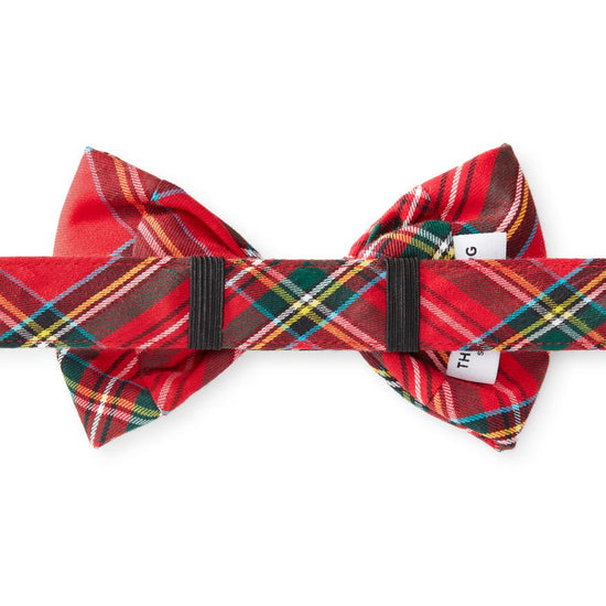 Tartan Plaid Dog Bow Tie from The Foggy Dog