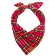 Tartan Plaid Flannel Dog Bandana from The Foggy Dog