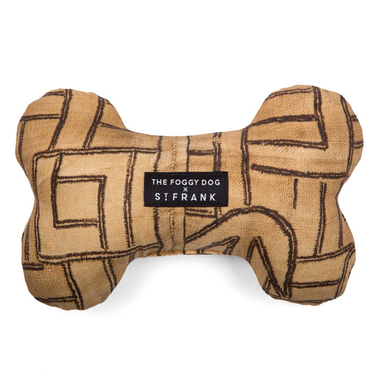TFD x St. Frank Golden Maze Dog Squeaky Toy from The Foggy Dog