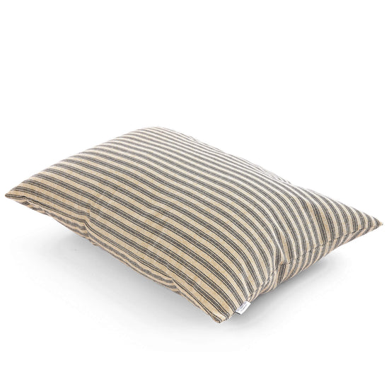 Ticking Stripe Dog Bed from The Foggy Dog