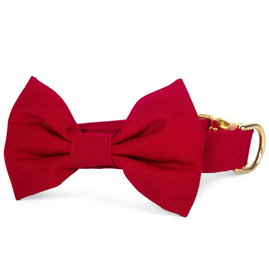 Wine Bow Tie Collar from The Foggy Dog