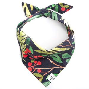 Winter Berry Dog Bandana from The Foggy Dog
