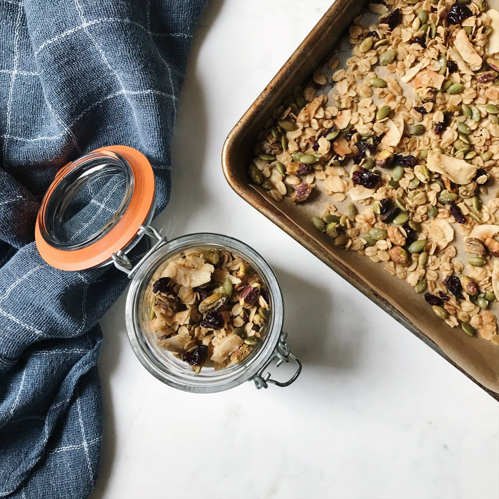 RECIPE: GRANOLA FOR NEW MAMAS (OR ANYONE REALLY)
