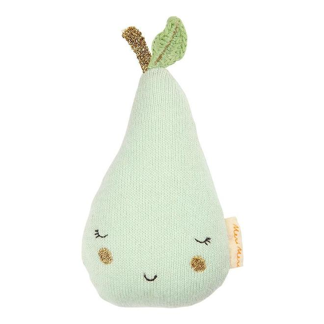 ORGANIC COTTON PEAR RATTLE