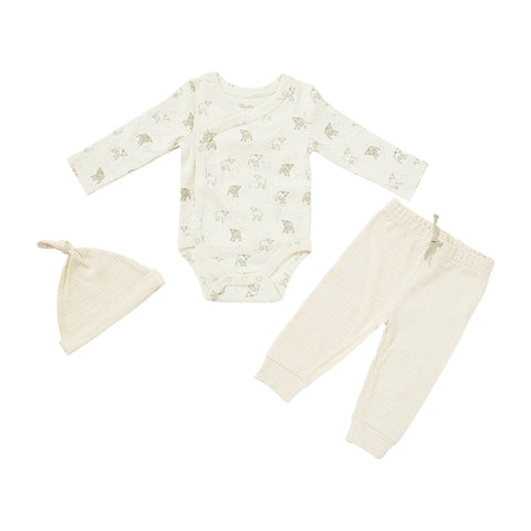 ORGANIC COTTON 3-PIECE SET,  LITTLE LAMB