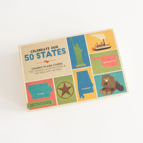 """CELEBRATE OUR 50 STATES"" FLASHCARDS - Lake Millie"