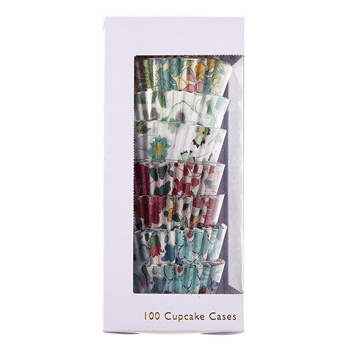 MINI CUPCAKE CASES IN LIBERTY PRINT - Lake Millie