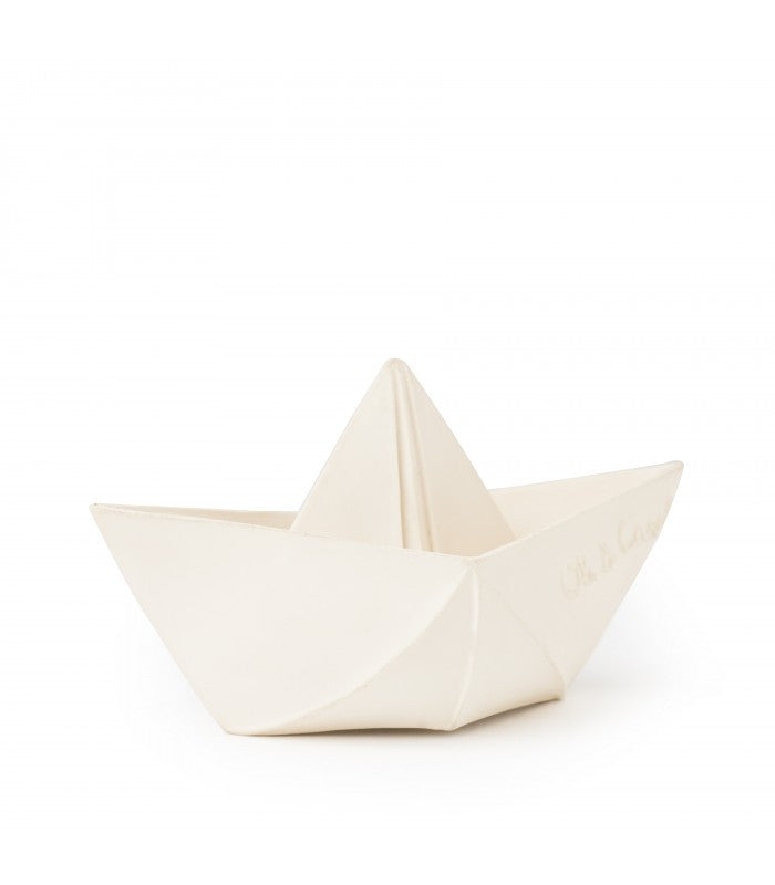 ORIGAMI BOAT TEETHER & BATH TOY - Lake Millie