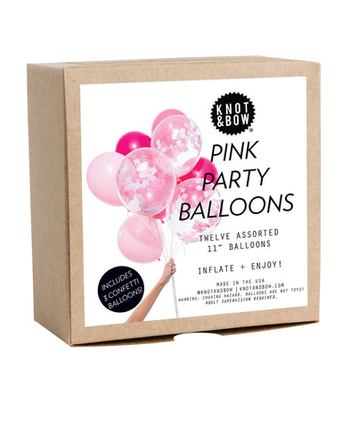 PINK PARTY BALLOONS - Lake Millie